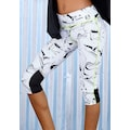 LASCANA ACTIVE Caprileggings »White Marble«
