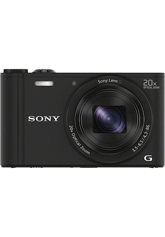 Sony »Cyber - Shot DSC - WX350« Superzoom - Kamera (25mm Sony G, 18,2 MP, 20x opt. Zoom, WLAN (Wi - Fi)) kaufen