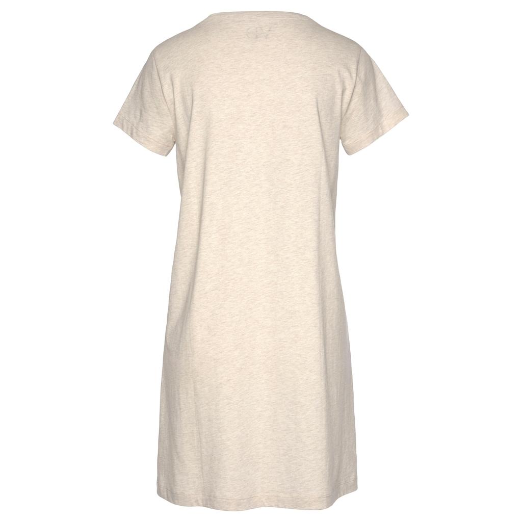 LASCANA Sleepshirt, zum Wohlfühlen