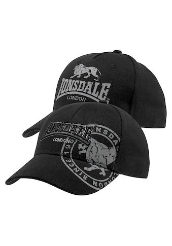 Lonsdale Baseball Cap (Packung, 2 tlg.) kaufen