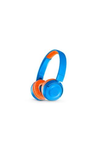 Wireless On - Ear - Kopfhörer, JBL, »JR300BT Blau Orange« kaufen