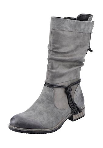Rieker Stiefel, Mit Zierbänder am Schaft kaufen