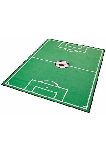 Kinderteppich, »Fussballfeld 1«, Zala Living, rechteckig, Höhe 8 mm kaufen
