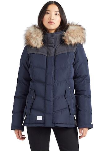 khujo Steppjacke »WINSEN5«, hochwertiger Kurzparka mit abnehmbarer Kapuze kaufen