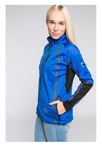 DEPROC Active Softshelljacke »THORSBY Women Midlayer«, auch in Grossen Grössen erhältlich kaufen
