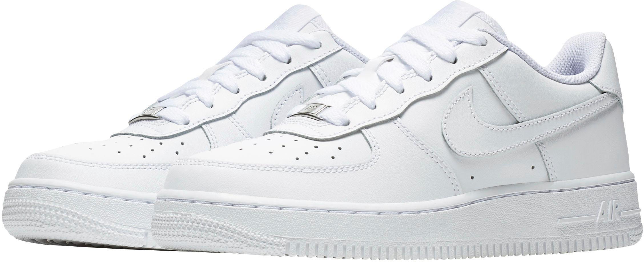 Kinder Schuhe schweiz Nike Air Force 1 Low (GS) Weiß WHITE