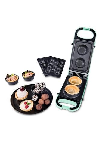 """Trisa 2-in-1-Kombi-Waffeleisen »Snack Maker """"Retro Line""""«, 700 W kaufen"""