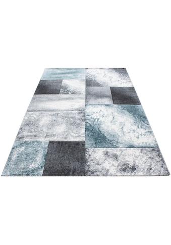 Ayyildiz Teppich »Hawaii 1710«, rechteckig, 13 mm Höhe, handgearbeiteter Konturenschnitt, Wohnzimmer kaufen