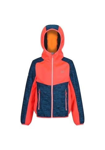 Regatta Softshelljacke »Kinder Tazer mit Kapuze, meliert« kaufen