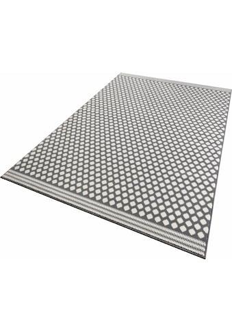 Zala Living Teppich »Spot«, rechteckig, 9 mm Höhe, Kurzflor gekettelt, Wohnzimmer kaufen