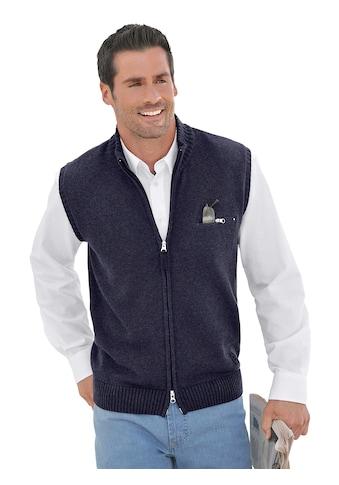 Marco Donati Strickweste aus reiner Baumwolle kaufen