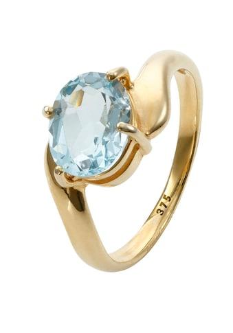 Lady Ring mit ovalem Blautopas kaufen