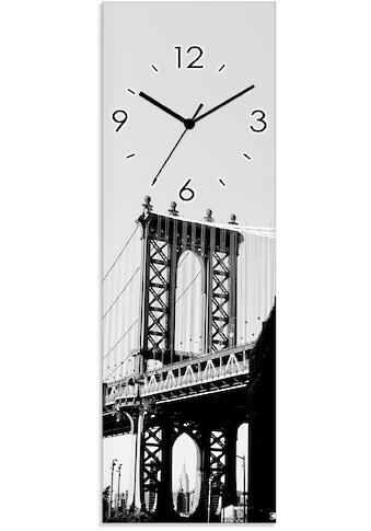Artland Wanduhr »Dumbo Manhattan Bridge New York« kaufen