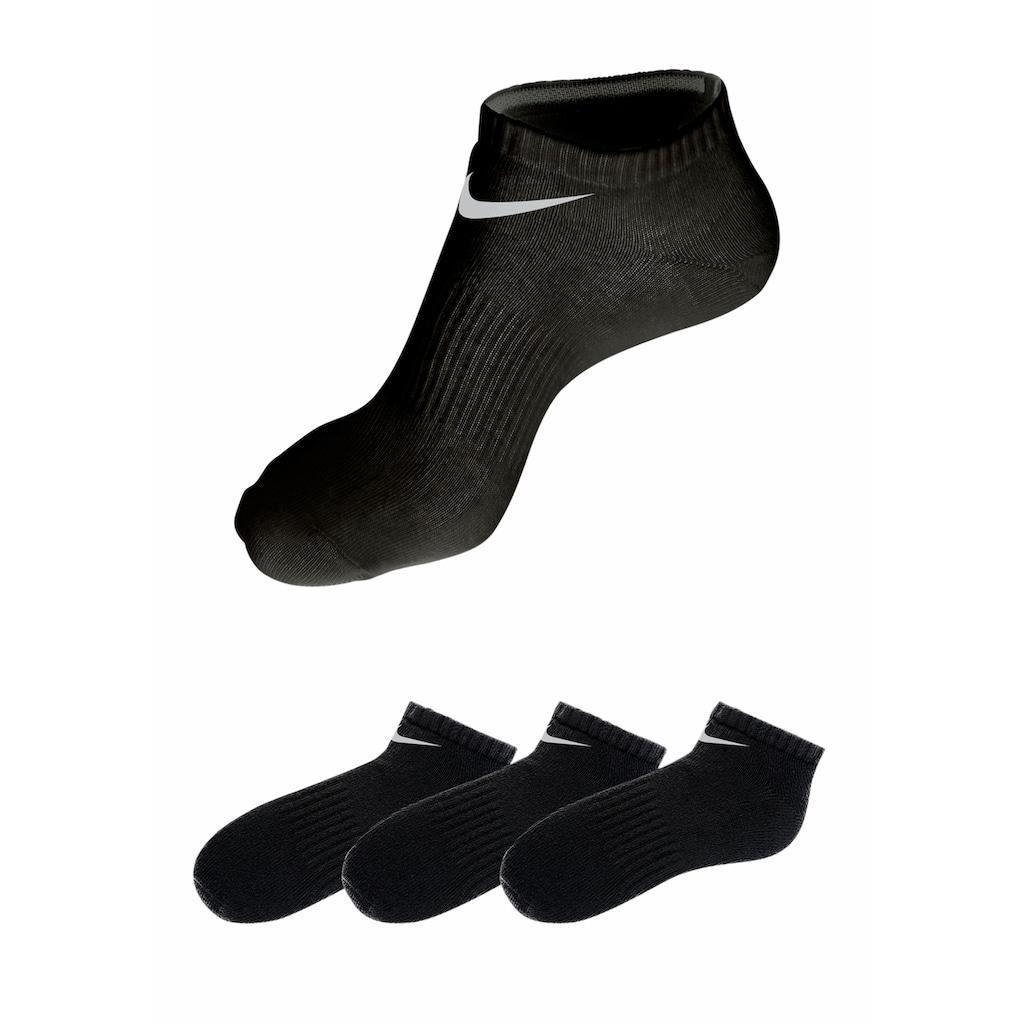 Nike Sneakersocken, (3 Paar), mit Mittelfussgummi