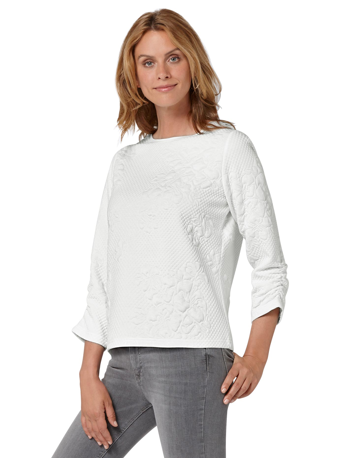 Image of Ambria 3/4-Arm-Shirt