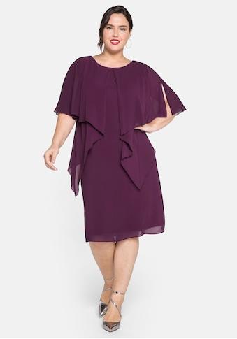 Sheego Cocktailkleid, im Lagenlook, aus Chiffon kaufen