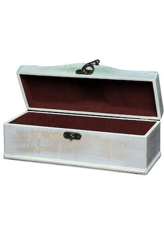 Ambiente Haus Aufbewahrungsbox »Seifenholz Graues Flaschenkästchen aus H«, (1 St.) kaufen