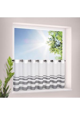 Gerster Scheibengardine »Eskil«, HxB: 50x140, mit modernem Streifen Design kaufen