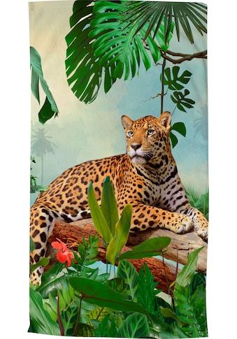 good morning Strandtuch »Jungle«, (1 St.), trocknet schnell kaufen