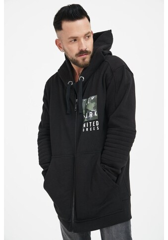 trueprodigy Sweatjacke »United Forces«, mit Print in Vintage Optik kaufen
