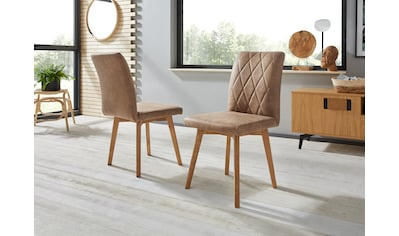Premium collection by Home affaire 4-Fussstuhl »Brest«, Gestell aus Eiche Massivholz... kaufen