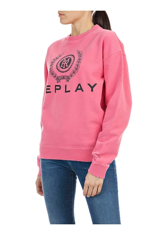 Replay Sweatshirt, mit grossem Logo-Print kaufen