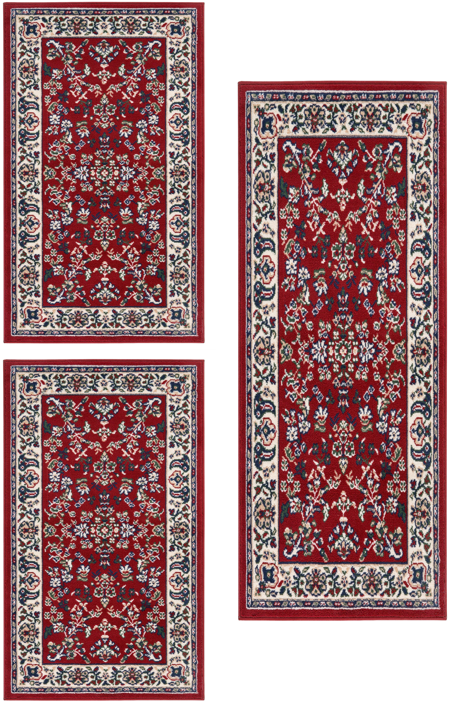 Image of Andiamo Bettumrandung »Orient«, Bettvorleger, Läufer-Set für das Schlafzimmer, gewebt, Orient-Optik