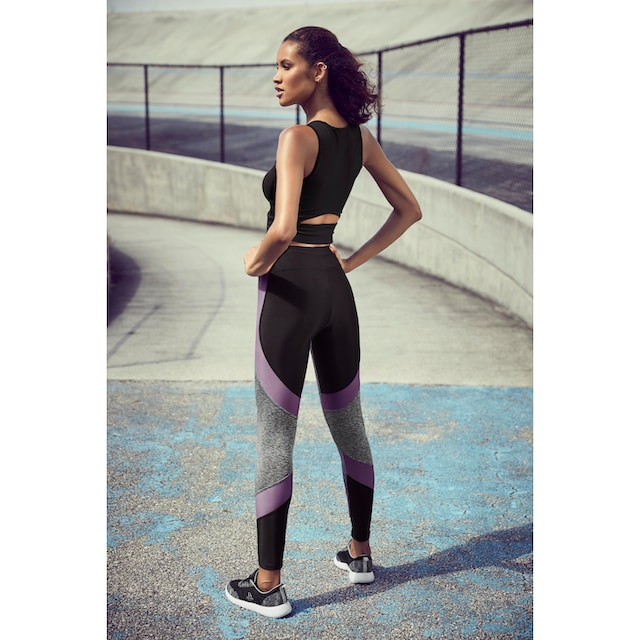 LASCANA ACTIVE Funktionsleggings »Digital Mauve«