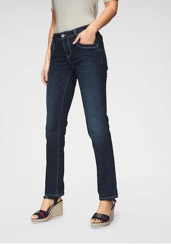 TOM TAILOR Gerade Jeans, mit Kontrastnähten kaufen