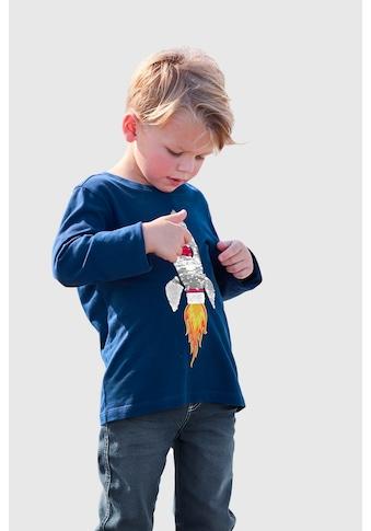 KIDSWORLD Langarmshirt »Rakete aus Wendepailletten« kaufen