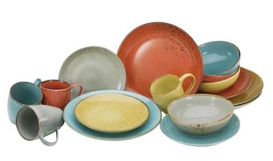 Teller Set /'Weiße Rosen/' Service Gedeckter Tisch Küchenbedarf Geschirr Präsent