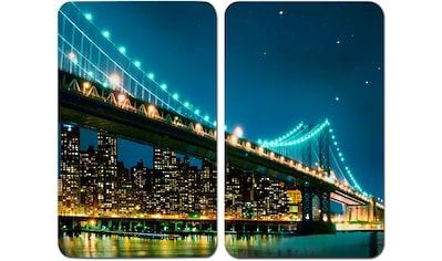 """WENKO Herd - Abdeckplatte """"Brooklyn Bridge"""", Glas, (Set) kaufen"""