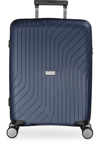 Hauptstadtkoffer Hartschalen-Trolley »TXL, dunkelblau, 55 cm«, 4 Rollen kaufen