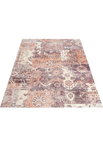 Teppich, »Salma«, DELAVITA, rechteckig, Höhe 10 mm, gedruckt kaufen