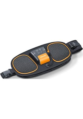 BEURER TENS-EMS-Gerät »EM 39 2-in-1 Bauch- und Rückenmuskeltrainer«, Wasserkontakt-Elektroden (kein Kontaktgel oder Ersatzelektroden notwendig) kaufen