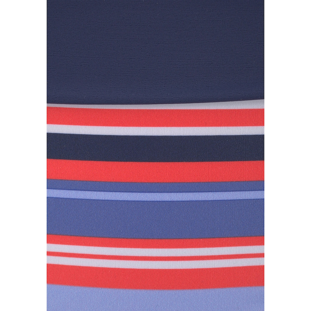 s.Oliver Beachwear Bügel-Bikini, mit maritemen Streifen