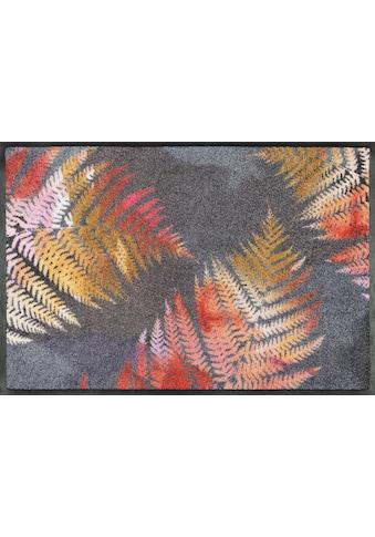 wash+dry by Kleen-Tex Fussmatte »Erbario«, rechteckig, 7 mm Höhe, Fussabstreifer,... kaufen