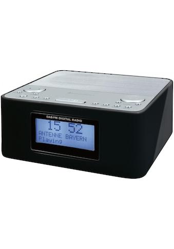 Soundmaster Radiowecker »UR170SW Schwarz«, ( Digitalradio (DAB+)-FM-Tuner ) kaufen