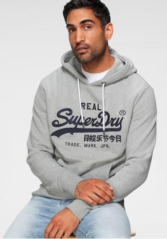 Superdry Kapuzensweatshirt »VL MONO EMB HOOD« kaufen