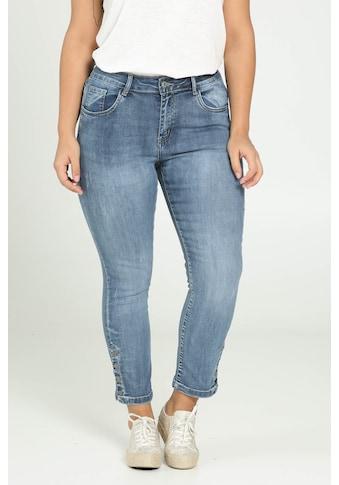 Paprika Weite Jeans »Hosenende umgeschlagen«, verwaschen kaufen