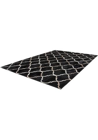 Kayoom Fellteppich »Lavish 310«, rechteckig, 8 mm Höhe, Patchwork-echtes Leder-Fell,... kaufen