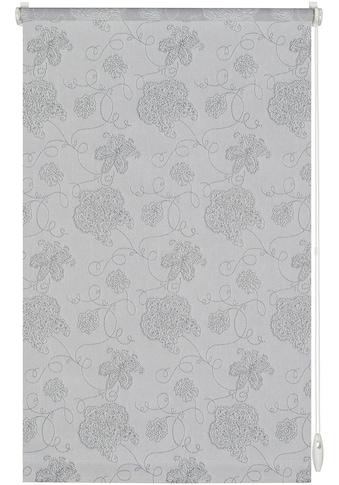 GARDINIA Seitenzugrollo »EASYFIX Rollo Dekor Stickerei«, Lichtschutz, ohne Bohren, im Fixmass kaufen