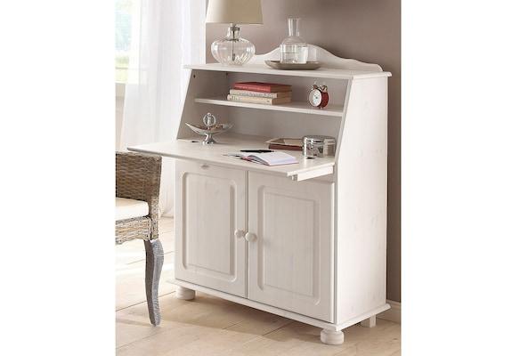 Sekretär in Weiß