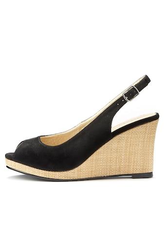 LASCANA Sandalette, mit Keilabsatz kaufen