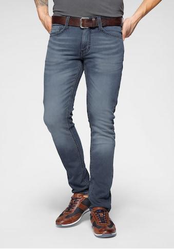 MUSTANG 5-Pocket-Jeans »Oregon«, mit leichten Abriebeffekten kaufen