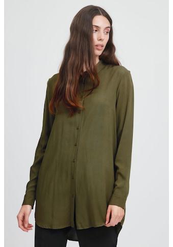Ichi Langarmbluse »IHMAIN SH2 20114754«, Länger geschnittene Bluse kaufen