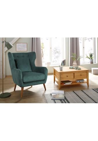 Home affaire Ohrensessel »Yamuna«, mit toller Sitzpolsterung, Gestell und Füsse aus... kaufen