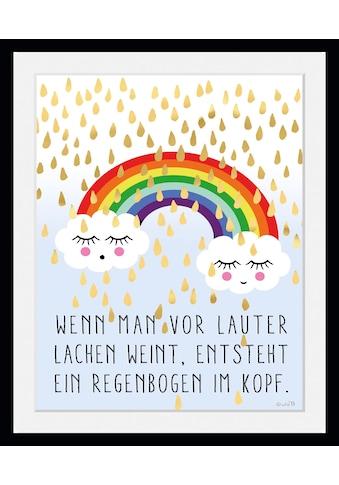 queence Bild »Regenbogen im Kopf«, Wolken, (1 St.) kaufen