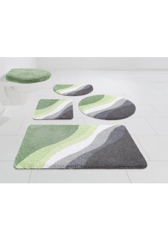 DELAVITA Badematte »Lani«, Höhe 15 mm, strapazierfähig kaufen