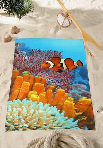 Strandtuch »Coral Fish« kaufen